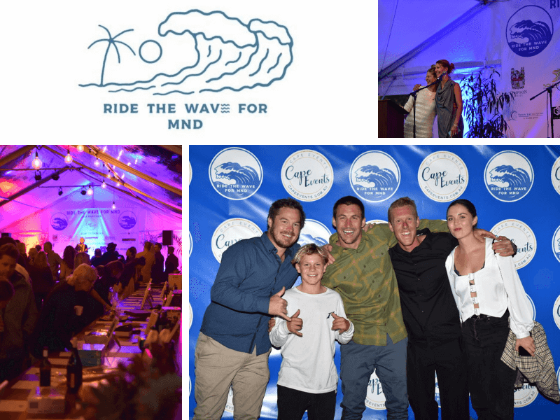 Ride The Wave For MND Charity Event